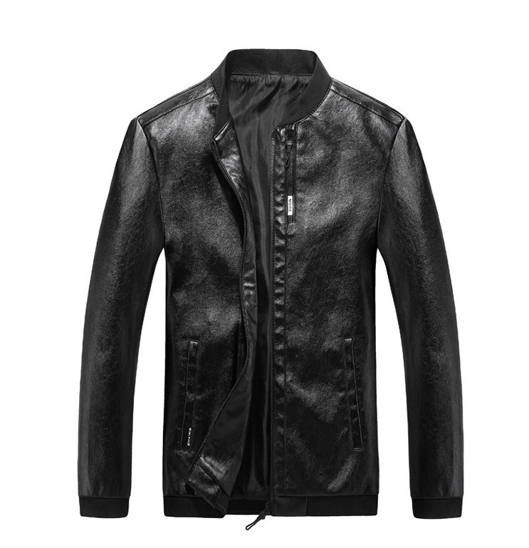 Мужская Куртка Бомбер Весна L (48) (MO100) Черная
