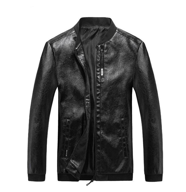 Мужская Куртка Бомбер Весна XXL (52) (MO100) Черная