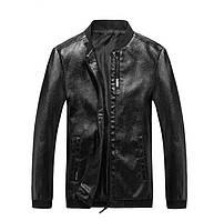 Мужская Куртка Бомпер Весна-Осень XXL (52) (MO100) Черная