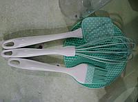 Кухонный набор в пластиковой колбе  из 4предметов, фото 1