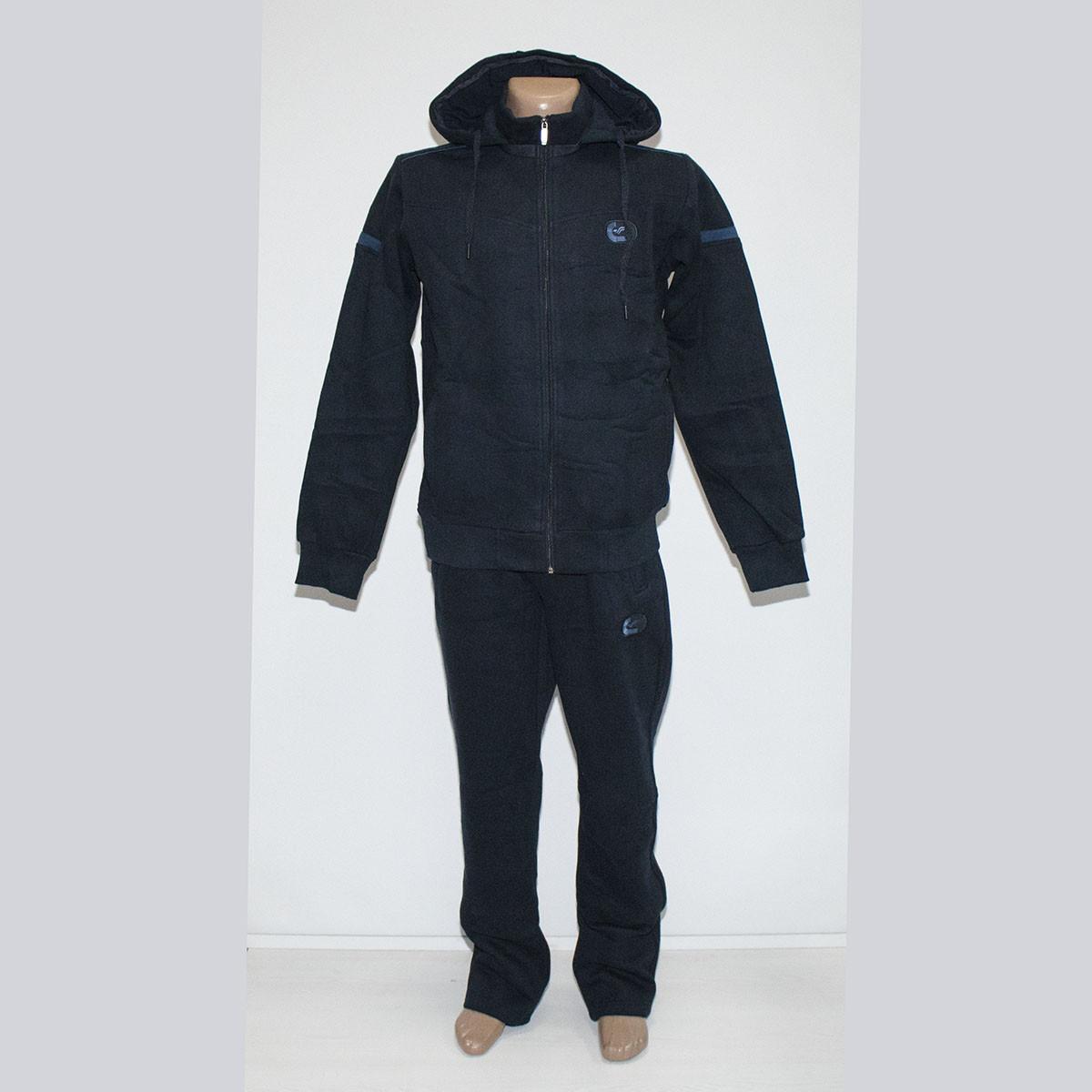 Теплый мужской спортивный костюм с капюшоном трехнитка пр-во Турция т.м. Fore 5359