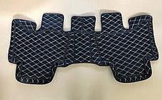 Комплект ковриков из экокожи для Toyota Prado 120, на 5 мест, фото 3