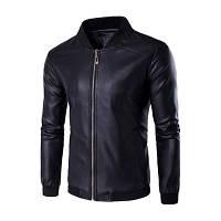 Мужская Куртка Бомбер Весна-Осень XL (50) (MO235) Черная