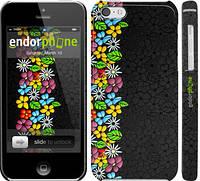 """Чехол на iPhone 5c цветочный орнамент """"2390c-23"""""""