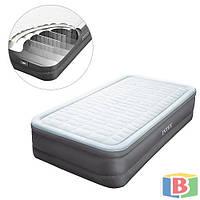 Надувная кровать Intex 64482 Размер; 99 х 191 х 46 Функция автоподкачки Встроенный электронасос PremAire