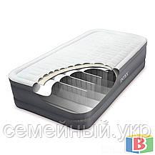 Надувная кровать Intex 64482 Размер; 99 х 191 х 46 Функция автоподкачки Встроенный электронасос PremAire, фото 3