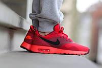 """Кроссовки мужские Nike Air Max Tavas """"University Red"""". кроссовки найк аир макс тавас красные оригинал"""