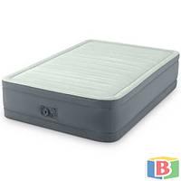 Надувная кровать Intex 64904 Размер: 137х191х46 Функция автоподкачки Встроенный электронасос Полутороспальная