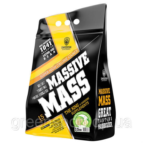 Гейнер Swedish Massive Mass (3.5 кг) Ванильная груша