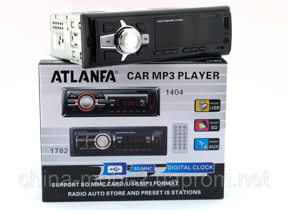 Atlanfa 1069 FM, car MP3 200W  4*50W  автомагнитола в стиле Pioneer