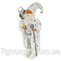 Дед Мороз под елку, Санта Клаус в шубе 47 см
