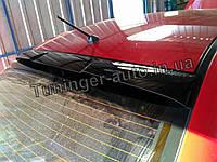 Козырек, спойлер, дефлектор на заднее стекло Mitsubishi Lancer X 2007-2015 (ANV)
