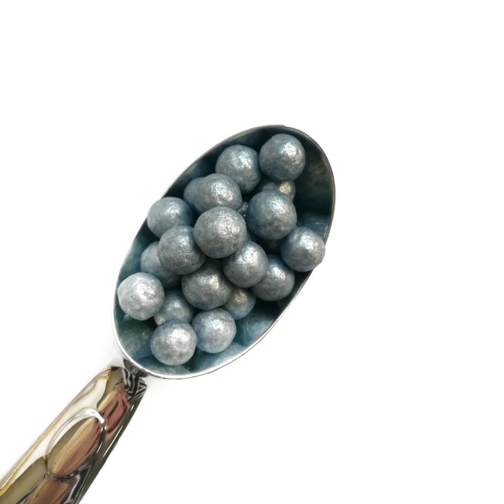 Жемчужины перламутровые голубые 10мм (25г)