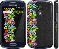 "Чехол на Samsung Galaxy S3 mini цветочный орнамент ""2390c-31"""