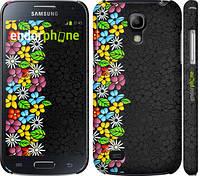 """Чехол на Samsung Galaxy S4 mini Duos GT i9192 цветочный орнамент """"2390c-63"""""""