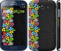 """Чехол на Samsung Galaxy Grand Duos I9082 цветочный орнамент """"2390c-66"""""""