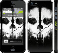 "Чехол на iPhone 5 Call of Duty череп ""150c-18"""