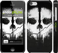 "Чехол на iPhone 5c Call of Duty череп ""150c-23"""