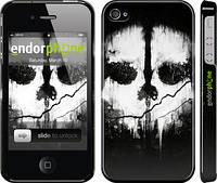 """Чехол на iPhone 4s Call of Duty череп """"150c-12"""""""
