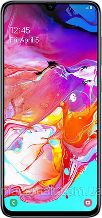 Смартфон Samsung Galaxy A70 6/128GB White, фото 2