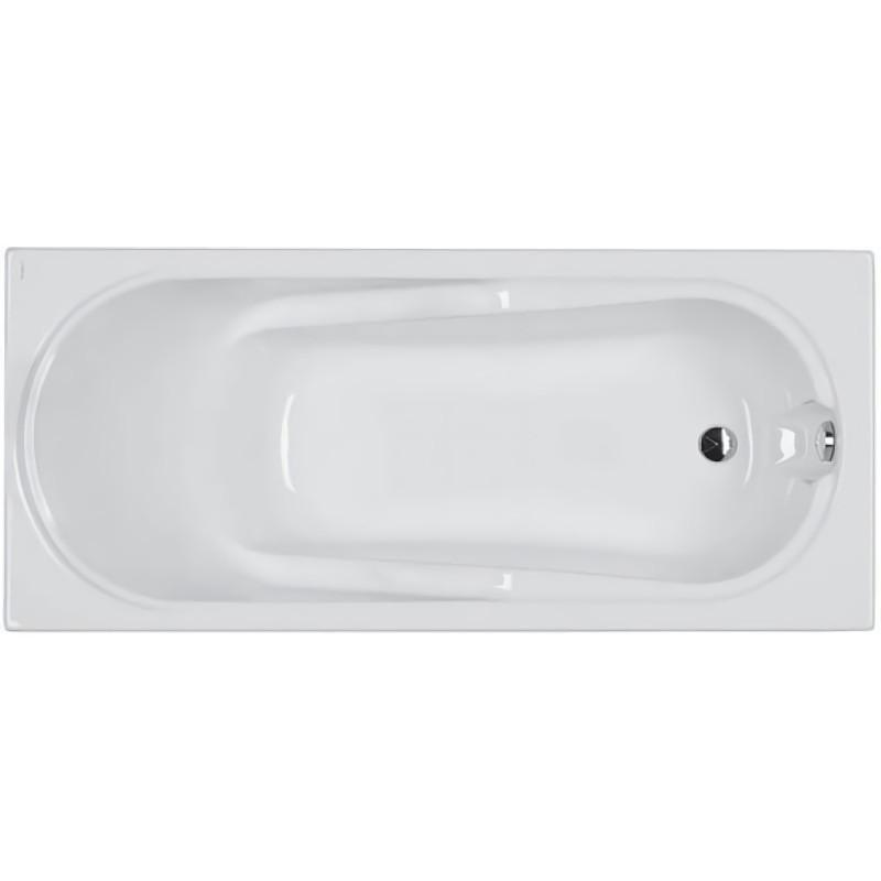 COMFORT ванна прямоугольная 160*75 см, с ножками SN7