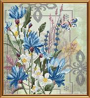 Набор для вышивки в смешанной технике Цветы добра ННД4068