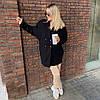 """Женское кашемировое пальто """"Mella"""" с карманами (3 цвета), фото 3"""