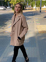 """Женское кашемировое пальто """"Mella"""" с карманами (3 цвета), фото 2"""