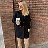 """Женское кашемировое пальто """"Mella"""" с карманами (3 цвета), фото 4"""