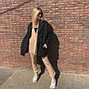 """Женское кашемировое пальто """"Mella"""" с карманами (3 цвета), фото 5"""