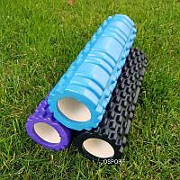 Валик (ролик, роллер) массажный для йоги, фитнеса (спины и ног) OSPORT (MS 1836), фото 1