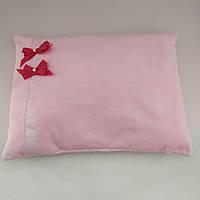 """Декоративная детская плюшевая подушка """"Розовое настроение"""", холлофайбер"""