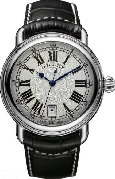 Фирменные наручные мужские часы AEROWATCH