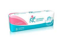 Гигиенические прокладки Normal clinic Classic Silk&dry/Top dry 8 шт