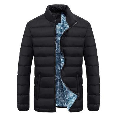 Мужская Куртка Короткая Весна XXL (52) (MO0723) Черная