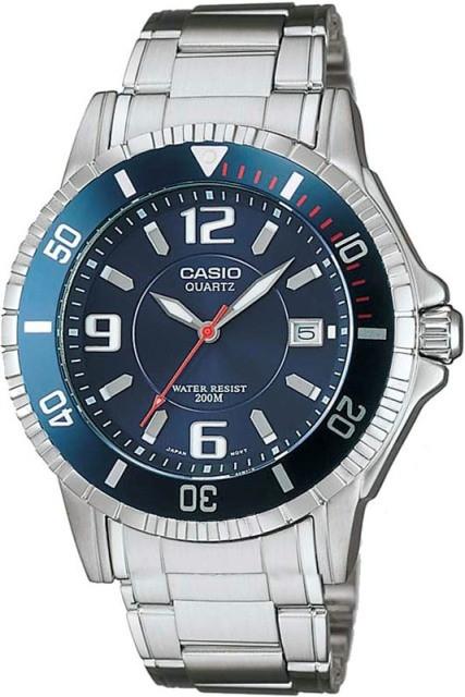 Фирменные наручные мужские часы Casio
