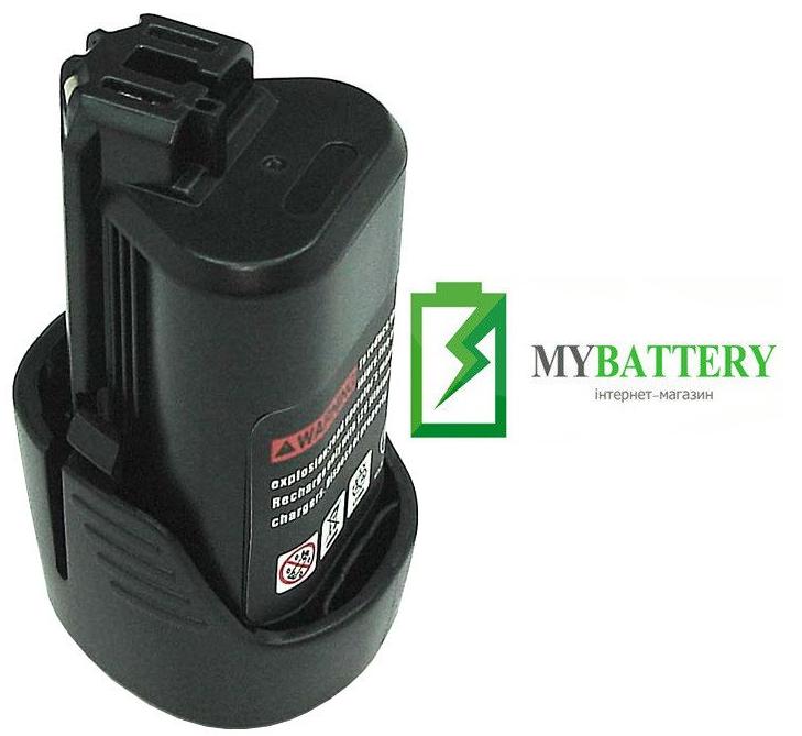 Аккумулятор для шуруповерта Bosch GLI 24V 2000 mAh 10.8 V черный