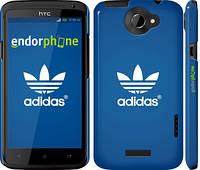 "Чехол на HTC One X+ Adidas 5 ""999c-69"""