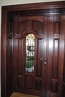 Входные деревянные двери. www.vikno-dveri.com.ua