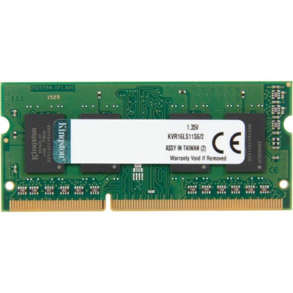 Оперативная память  Kingston 2 GB SO-DIMM DDR3L 1600 MHz  (9703576)