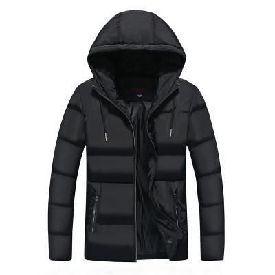 Мужская Куртка Короткая Весна L (48-50) (MO862) Черная