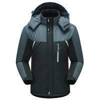 Мужская Куртка Длинная Зима-Осень XXL (52-54) (MO888) Черная