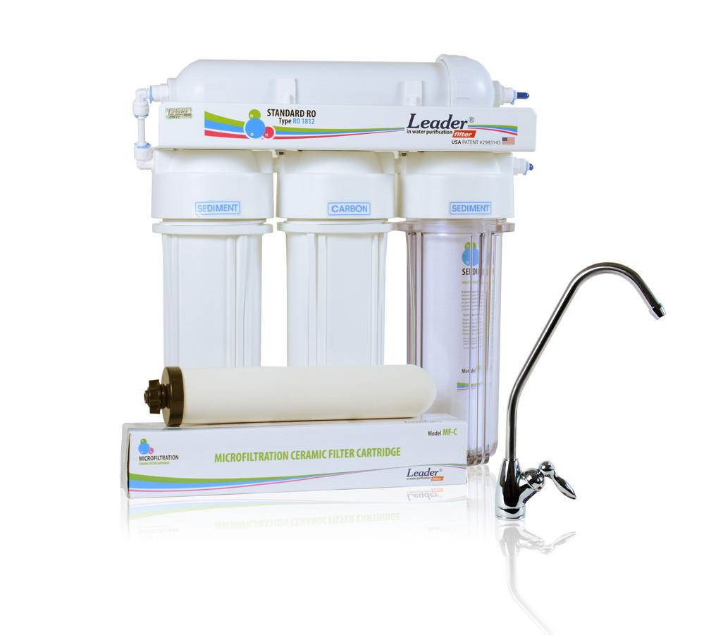 Фильтр для очистки воды Leader MF 4