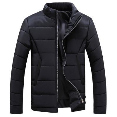 Мужская Куртка Короткая Весна XL (50-52) (MO909) Черная