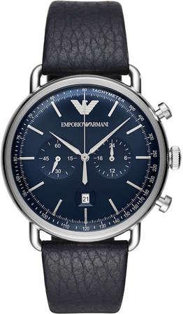 Фирменные наручные мужские часы Armani