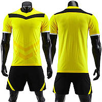 Футбольная форма игровая для команды 2019 (Желто-черная), фото 1