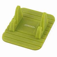 Автомобильный нескользящий коврик-подставка JOYROOM JR-ZS119 для телефона Зеленый (SUN5867)