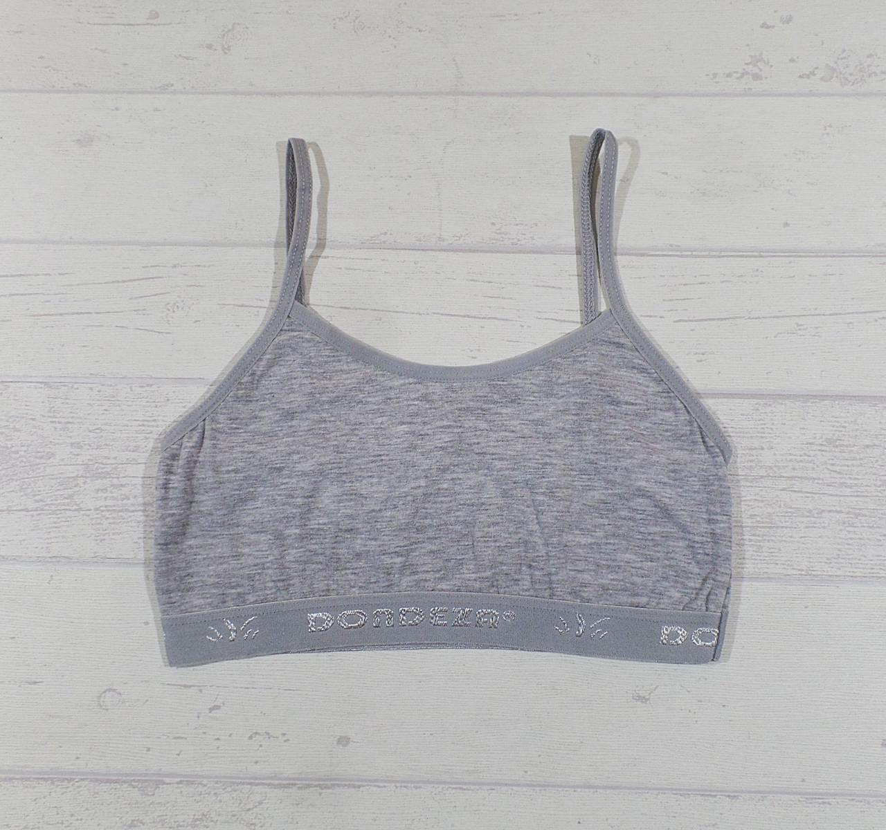 Топик серый для девочки размер L-XL 14-15 лет 65581612773