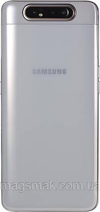 Смартфон Samsung Galaxy A80 8/128GB Ghost White, фото 2
