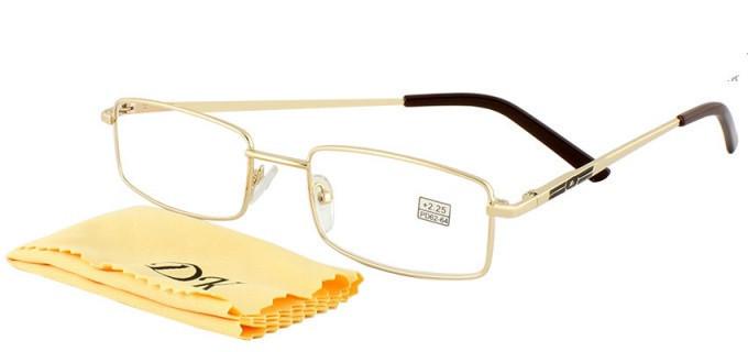 Готовые очки (1001) с линзами антиблик+салфетка